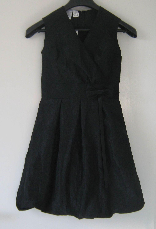 Kinder Kleid Konfirmation festlich schwarz