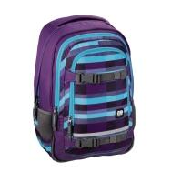 All Out Rucksack Selby Check Purple