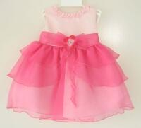 Kid Collection festliches Babykleid Lara rosa pink