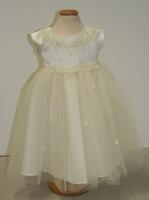 Kid Collection festliches Babykleid Taufkleid Katherina creme