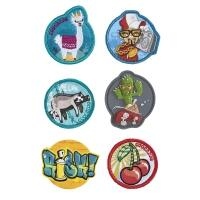 Coocazoo Patches-Set StyleTyle Street Fashion Motivwahl