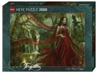 Heye Puzzle Forgotten Chris Ortega New Red