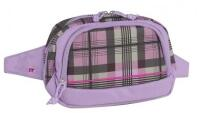 TAKE IT EASY Gürteltasche PLAID lila