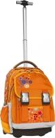 TAKE IT EASY Rucksack Trolley Orange Flower