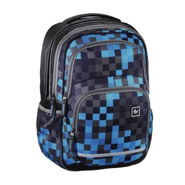 All Out Rucksack Blaby Blue Pixel