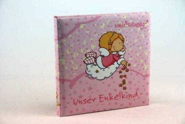 Goldbuch Foto-Album Enkelkind Little Wingels rosa