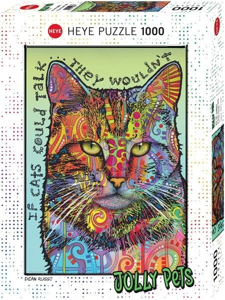 HEYE Puzzle 1000 Teile Dean Russo If Cats Could Talk