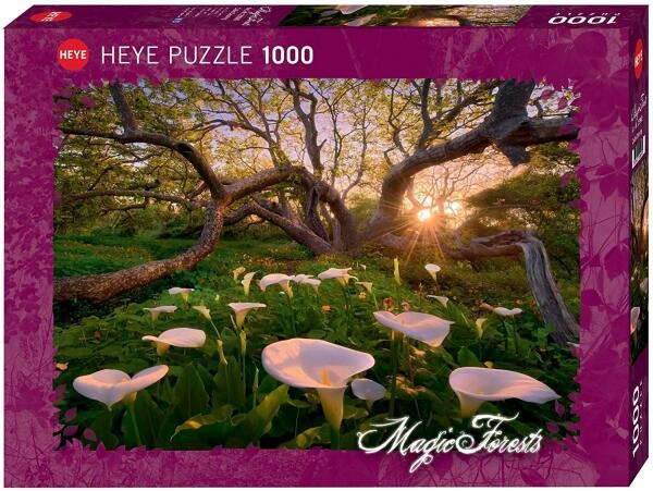 HEYE Puzzle 1000 Teile Magic Forests Calla Clearing